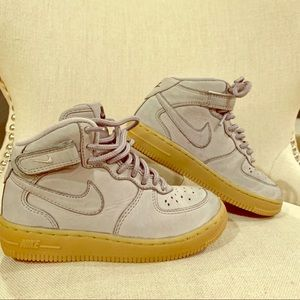 Little kids Nike Air Force 1 Mid WB shoes